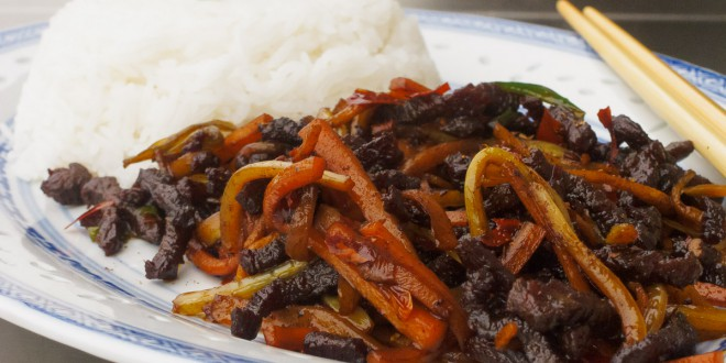 Dry-Fried Beef Slivers