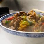 Rindfleisch mit Silbermorcheln