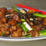 Liuyang Hühnchen mit schwarzen Bohnen