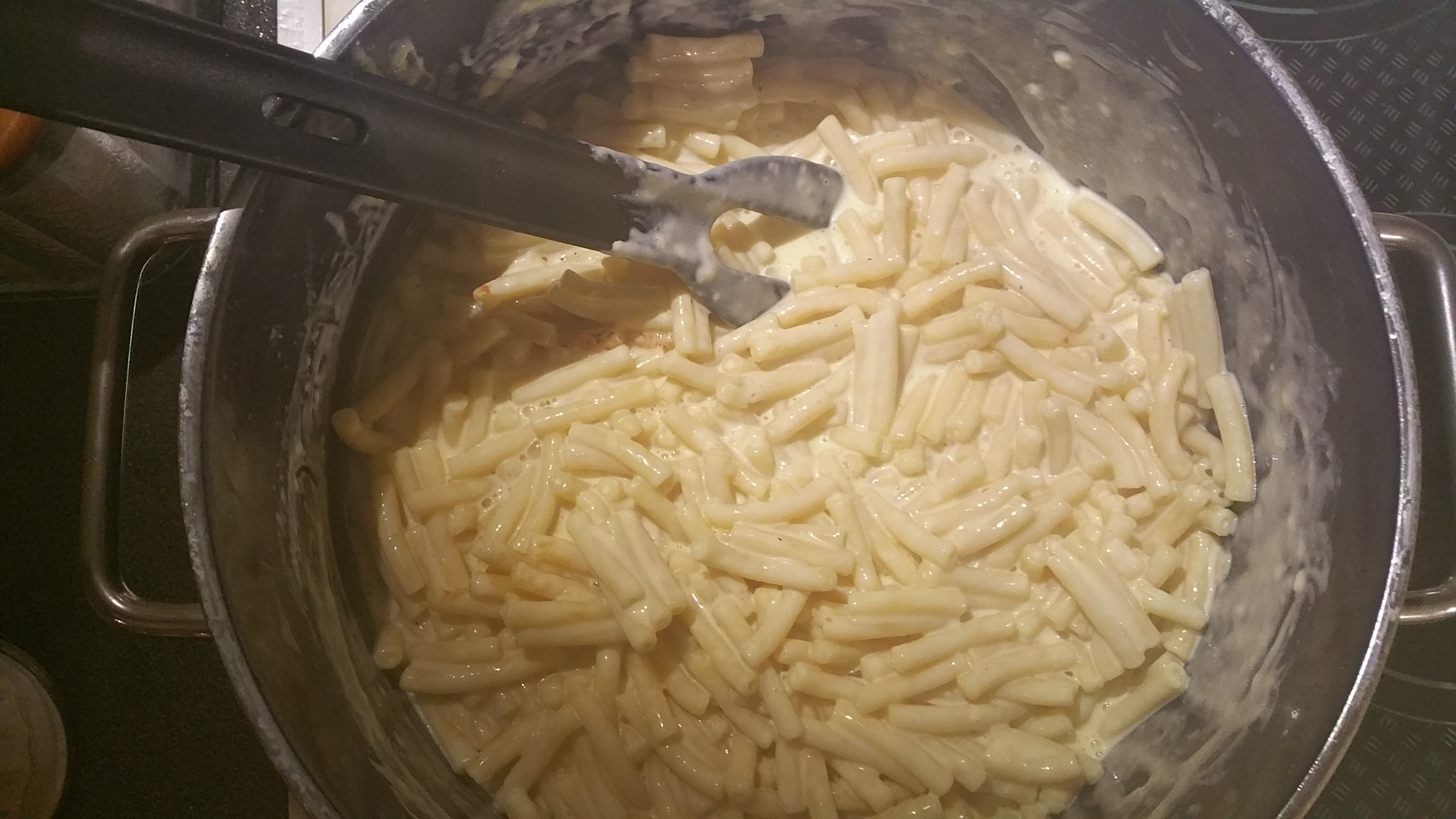 Mac and Cheese - Nudel mit Sauce
